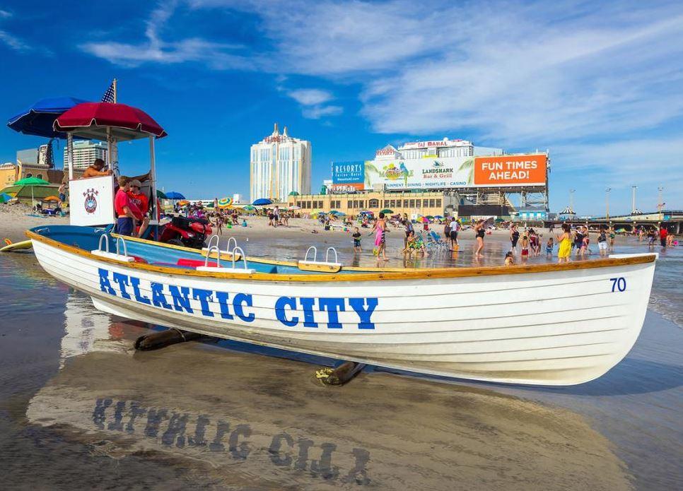 Atlantic City Beach, NJ