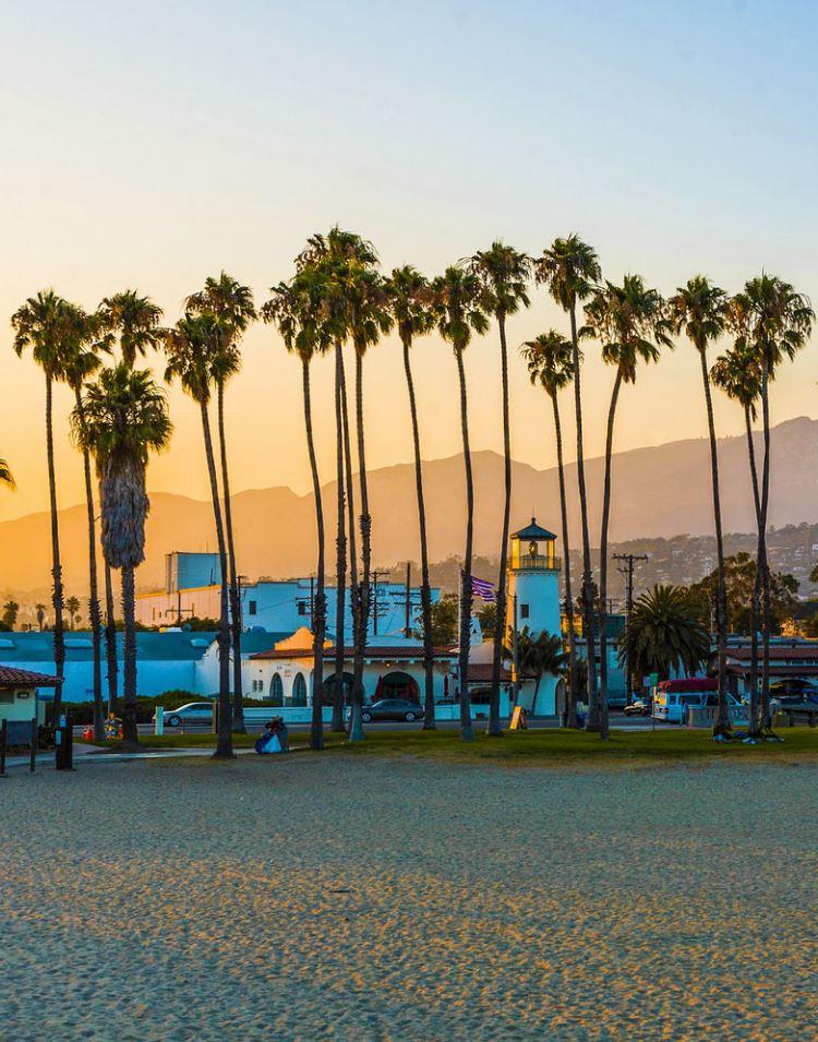 East Beach, Santa Barbara, California