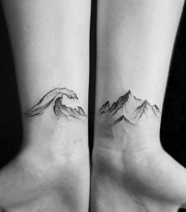 Gorgeous Black & Gray Tiny Tattoo Ideas