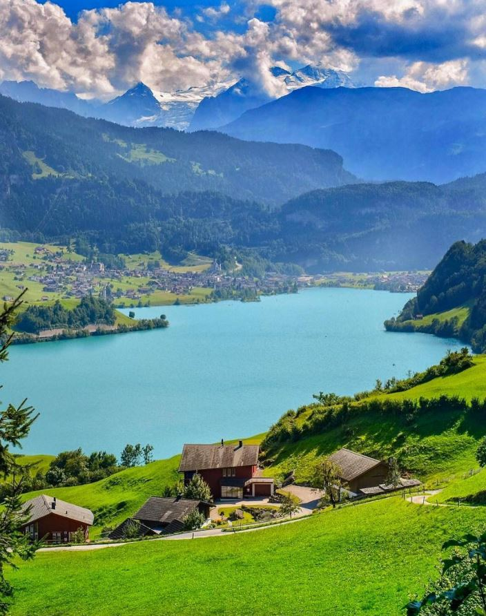 Lake Lungern, Switzerland