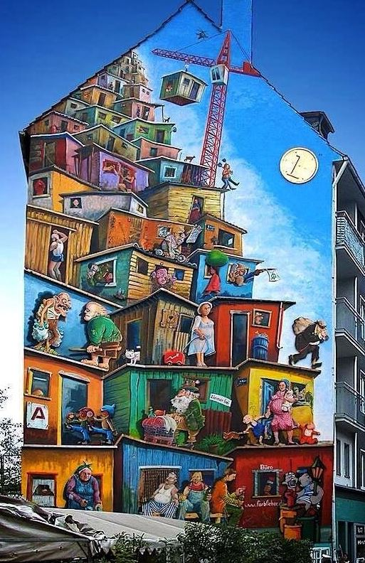 Street art in Germany