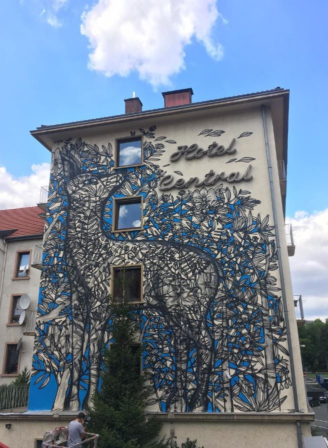 Street art in Heidelberg, Germany