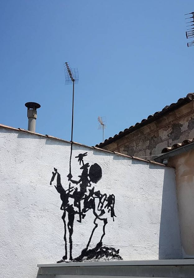 Street art in Mallorca, Spain