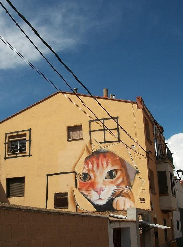 Street art in Zaragoza