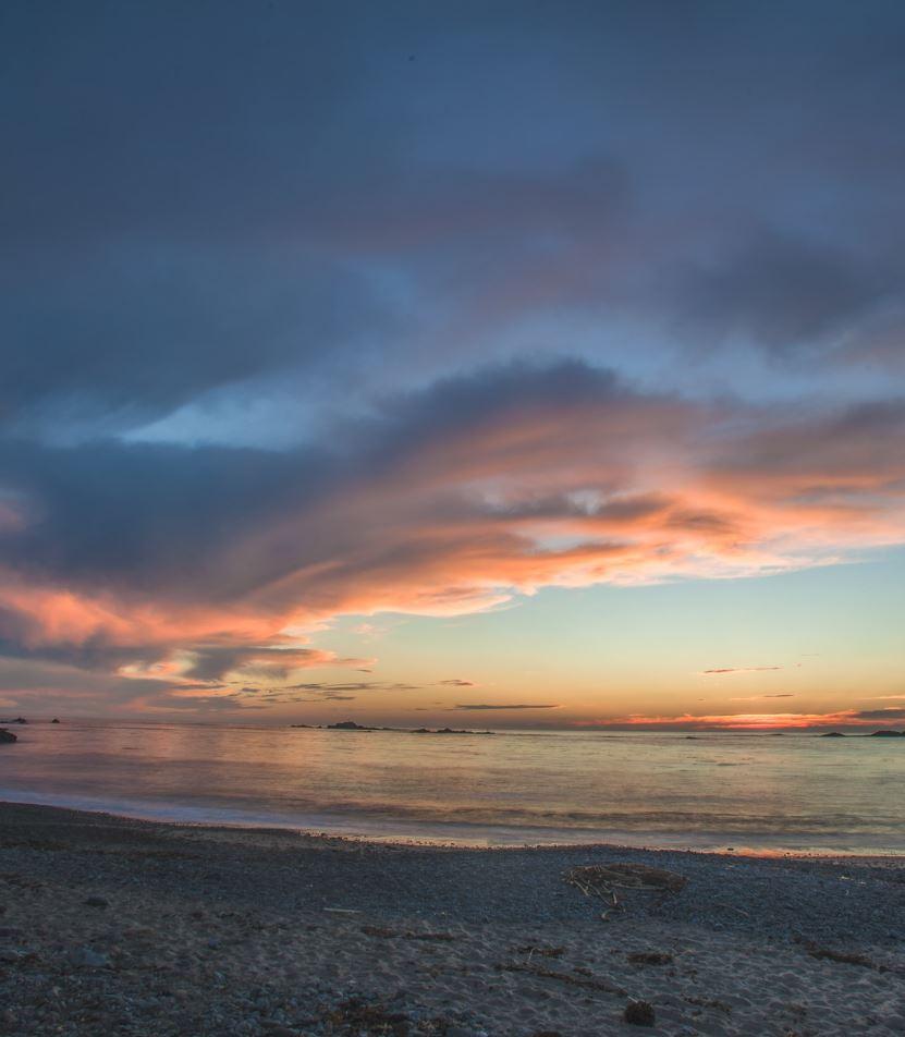 Van Damme Beach, Mendocino Coast, California