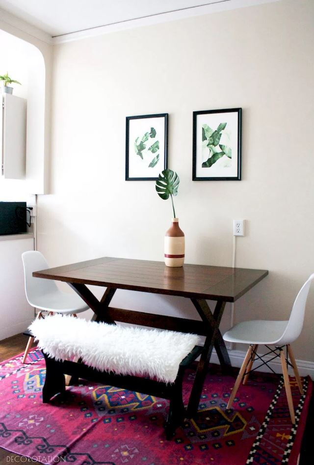 30 Small Dining Room Ideas - Doozy List