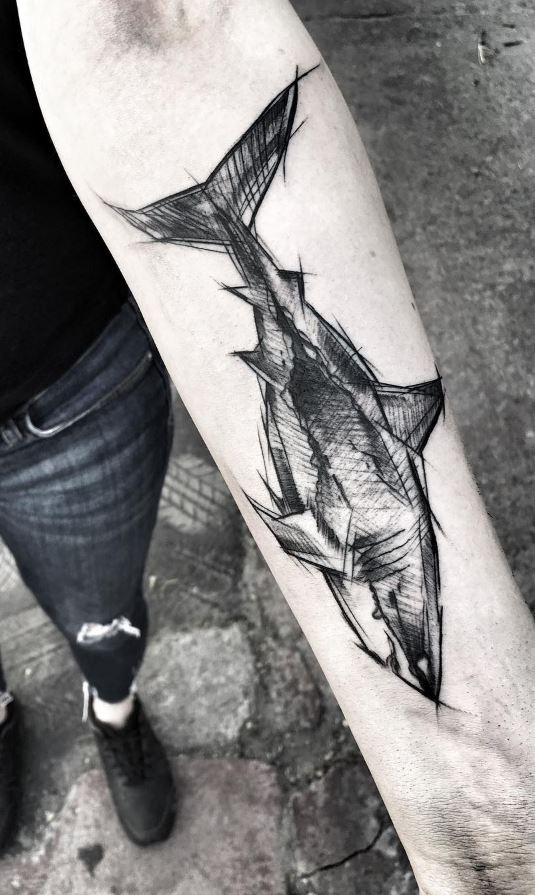 Black Shark Tattoo