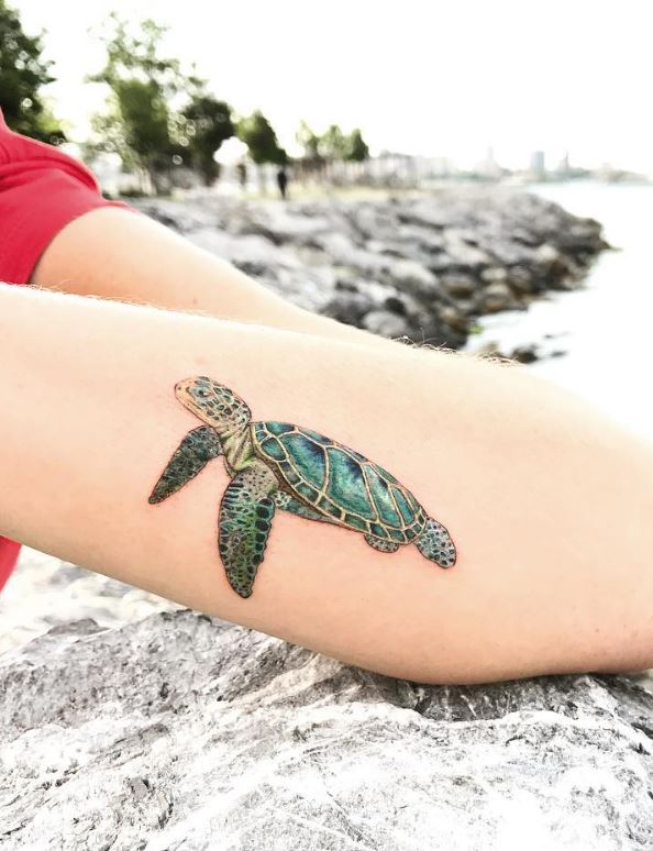 Caretta Caretta Tattoo
