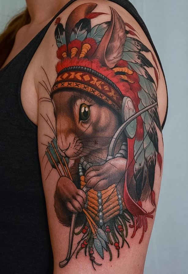 Chief of Rabbits Tattoo