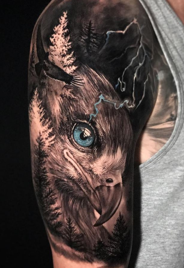 Golden Eagle Tattoo