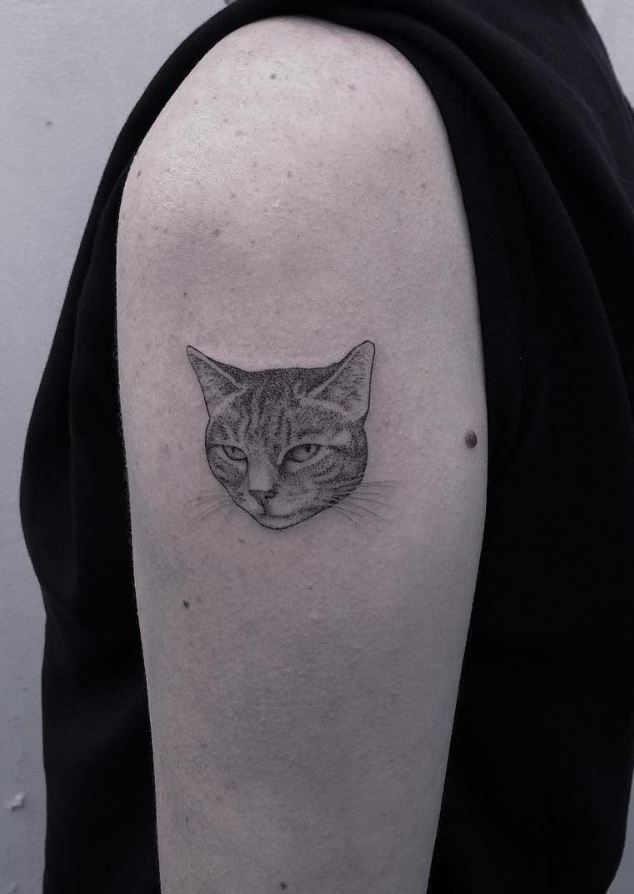 Grumpy Cat Tattoo