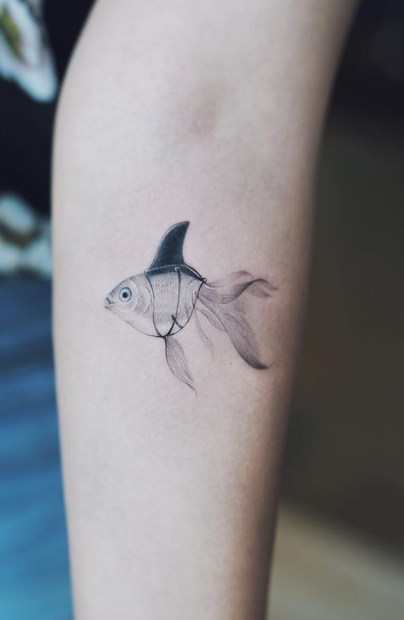 Tiny Fish Tattoo