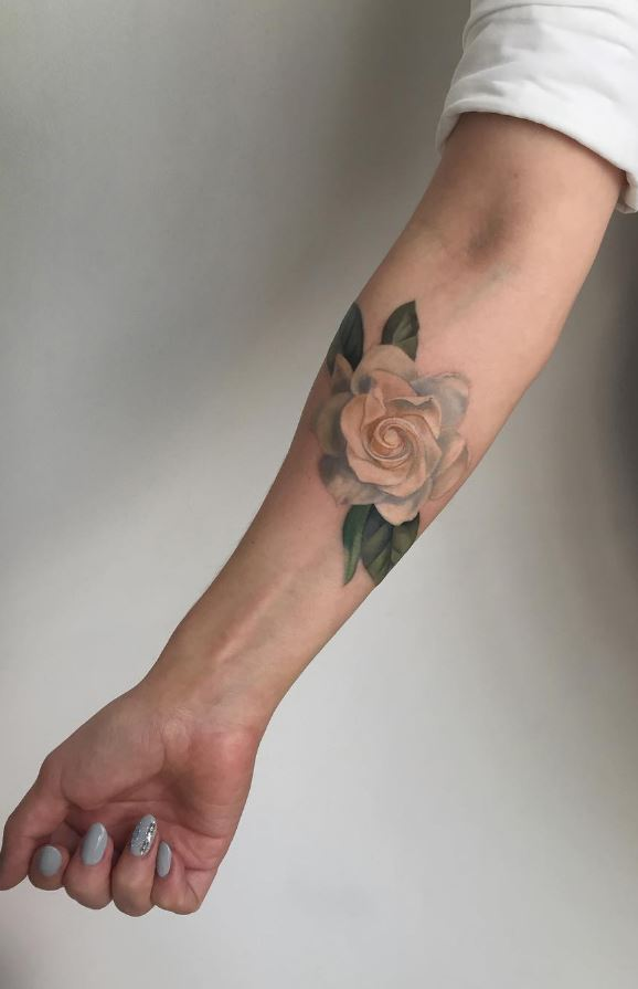 White Rose Tattoo