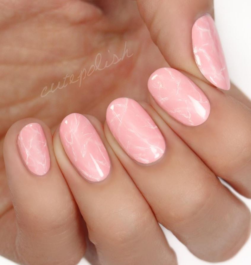20 Pink And Pretty Nail Design Ideas 1 Doozy List