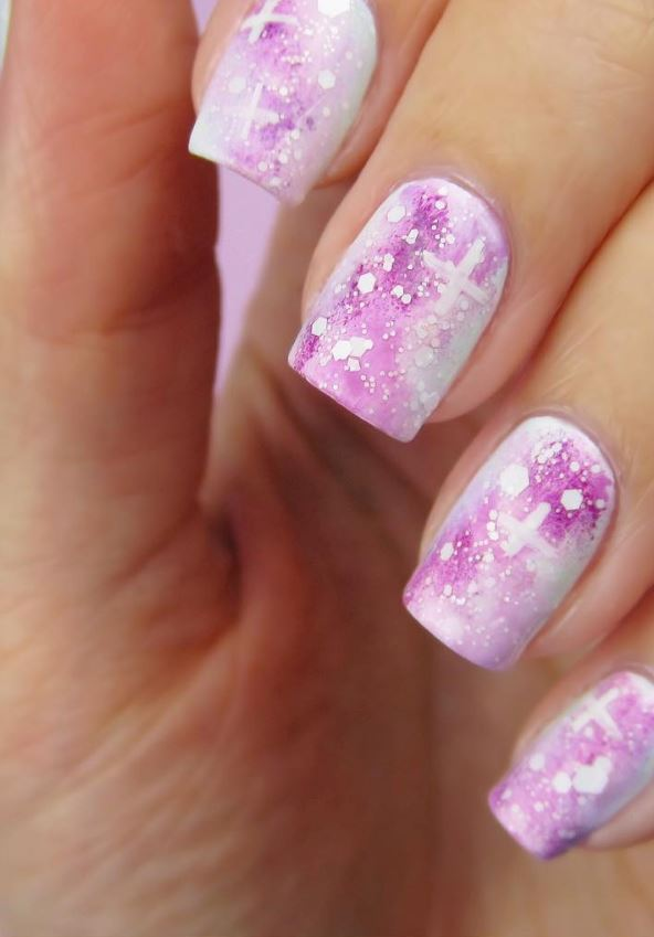 20 Pink and Pretty Nail Design Ideas (11) - Doozy List