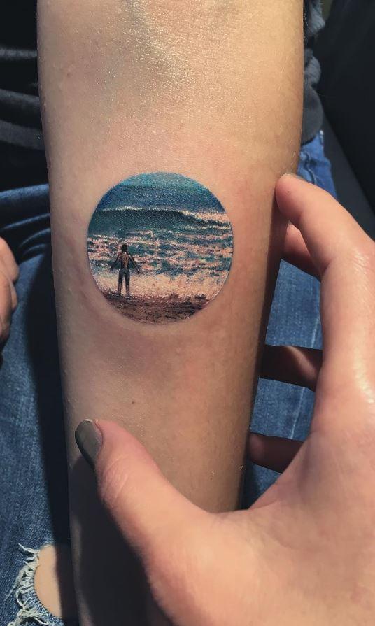Stunning This Tattoo Artist Uses Real Flowers To Create: 50 Best Tattoos From Amazing Tattoo Artist Eva Krbdk