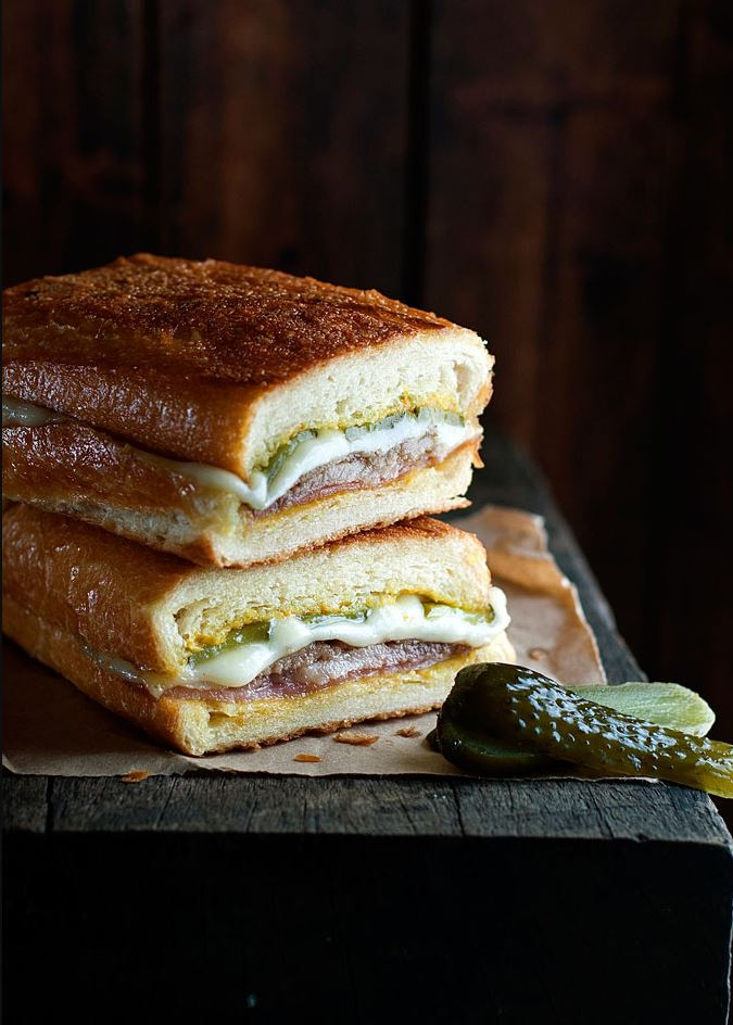 Cuban Pork Cubanos Sandwich