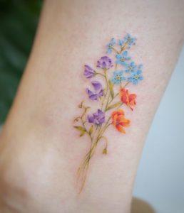 40 Fantastic Pastel Tattoos from Amazing Tattoo Artist G. No