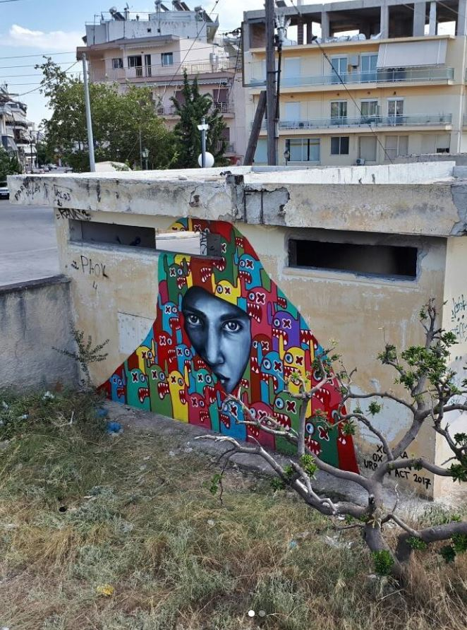 Awesome Art in Volos, Greece by @xolaka