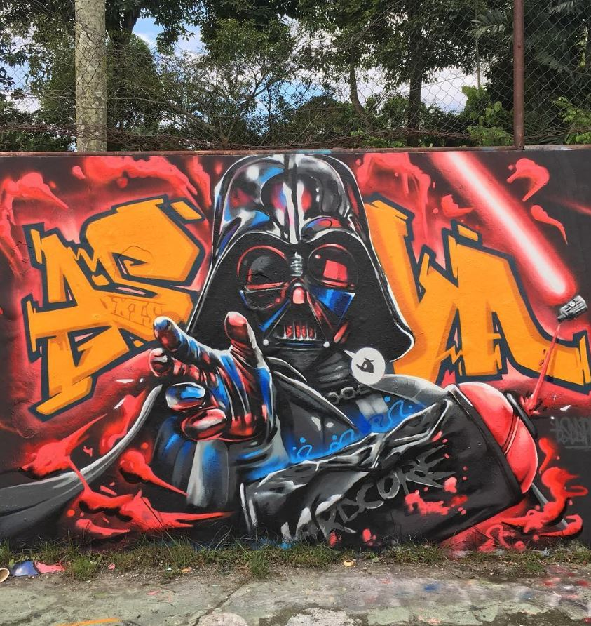 Lord 'Funk' Vader in Kuala Lumpur by @escapeva