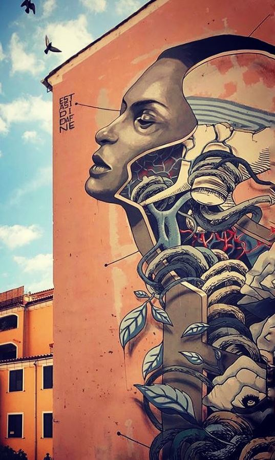 estasi di Dafne in Salerno, Italy by @teresa_eremita