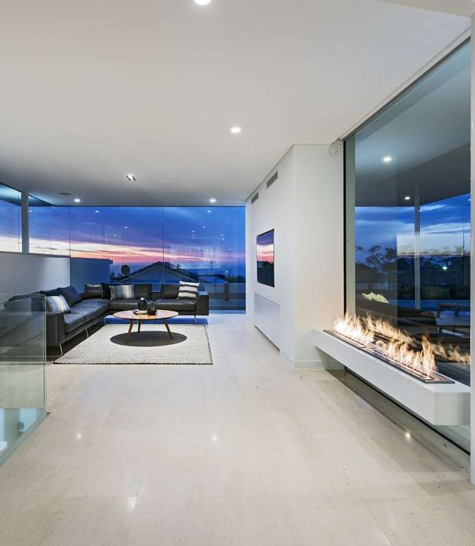 City Beach Home Living Room
