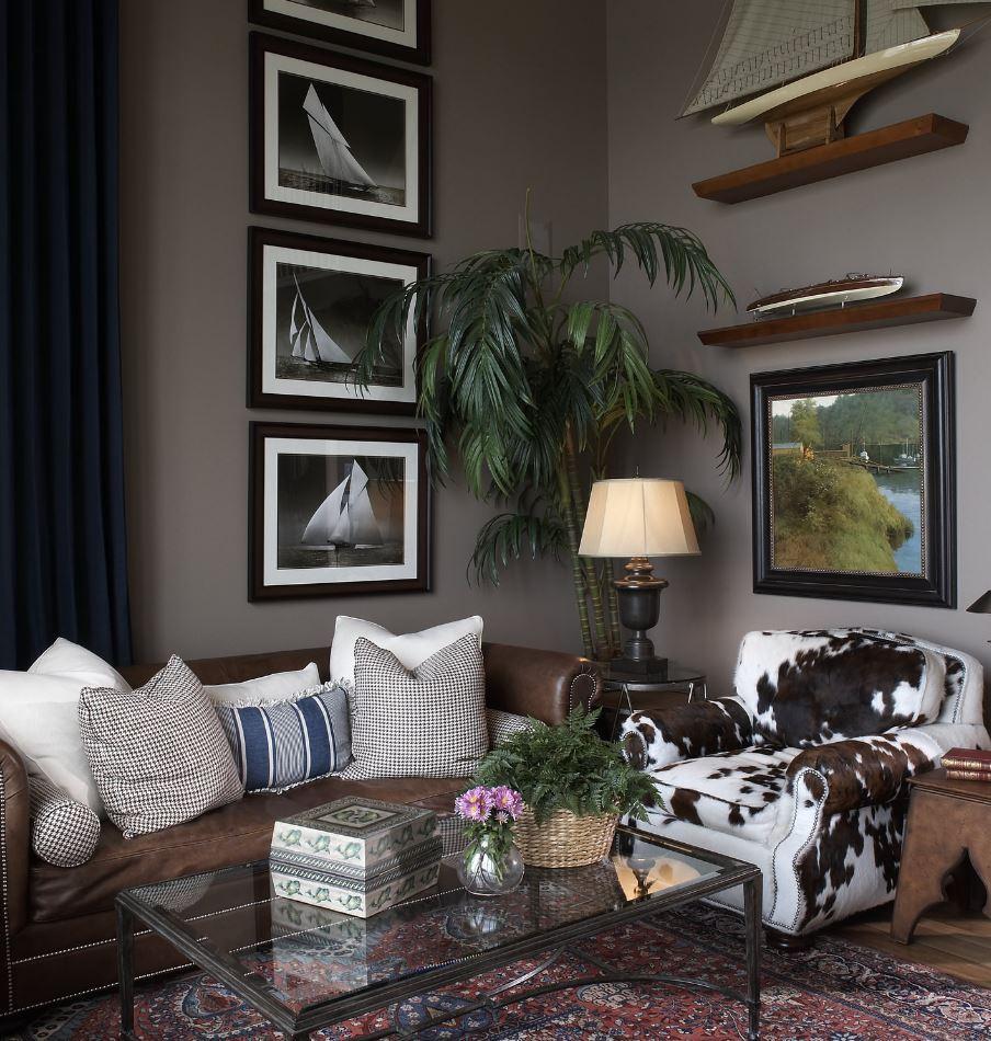 Lake Minnetonka Residence Living Room