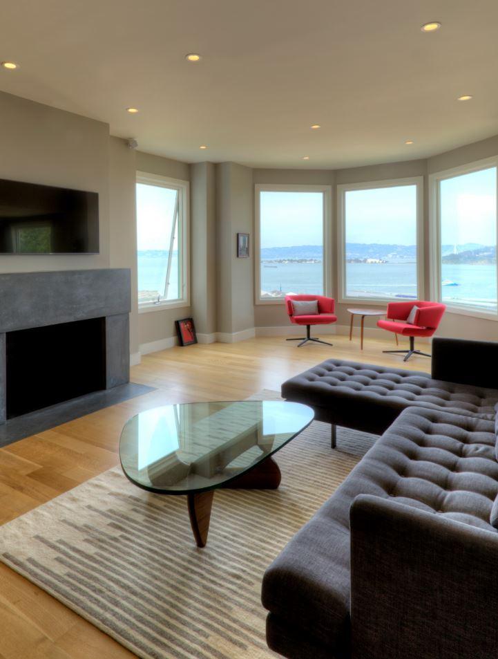 Russian Hill Condo - Living Room