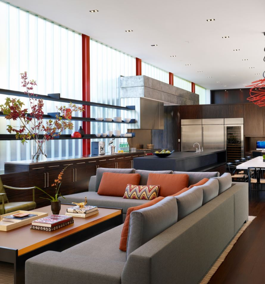Sleek and Stylish Living Room