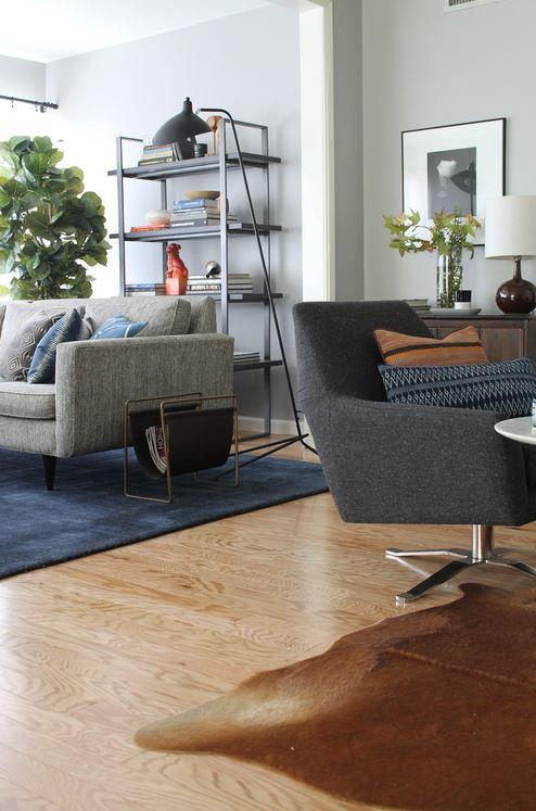19  The Madison Modern Home Living Room