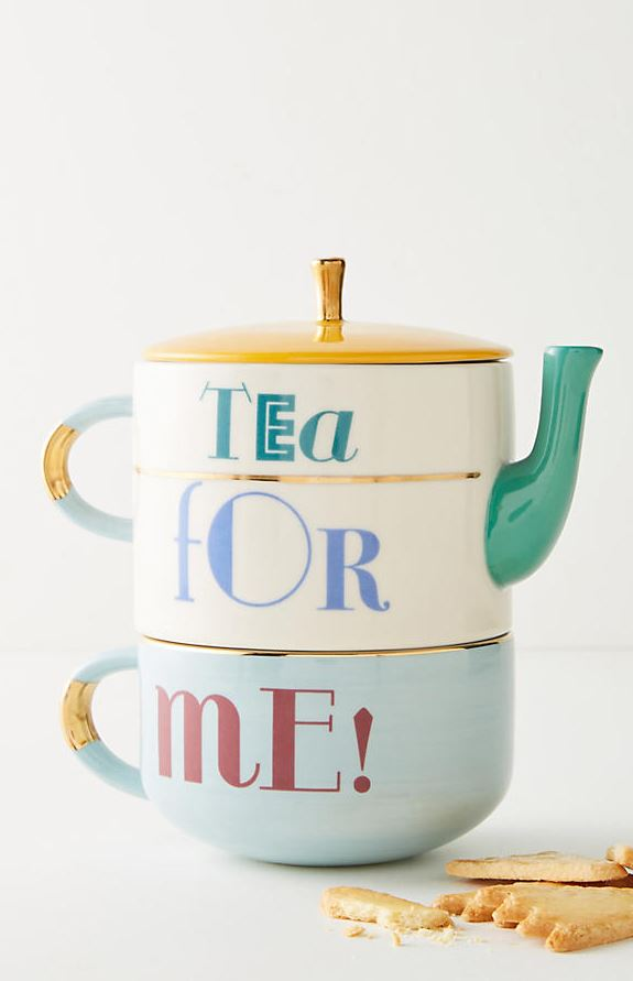 Anthropologie Tea For Me Set