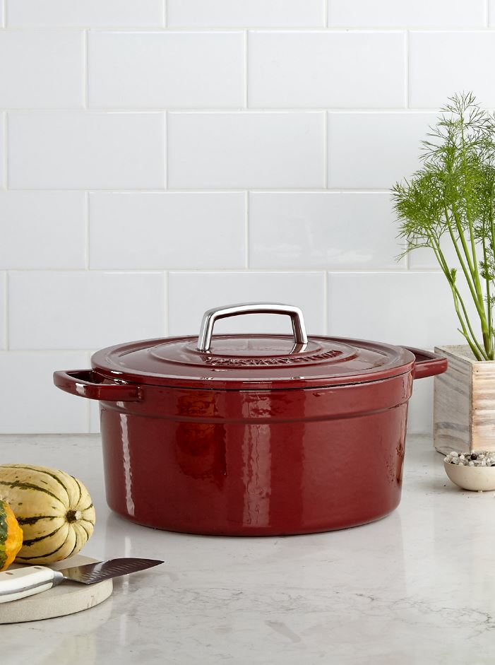 Martha Stewart Collection Collector's Enameled Cast Iron