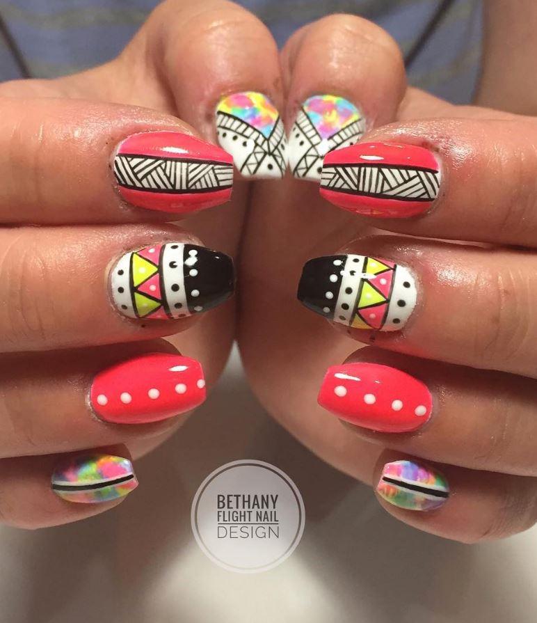 50 Beautiful Nail Art Ideas By Nails By Bethany Flight 23 Doozy