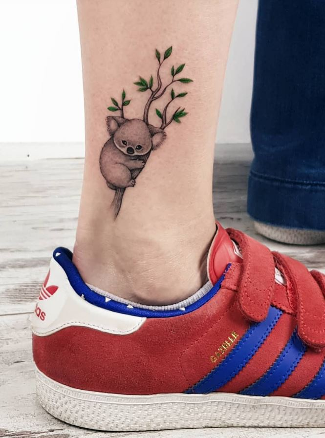 50 Beautiful Small and Colorful Tattoos