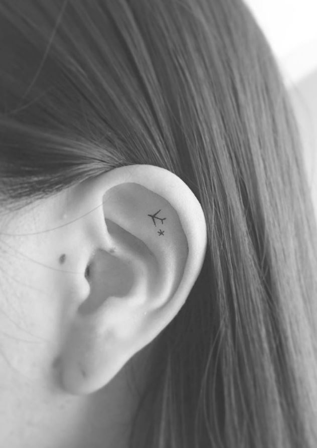 40 Amazingly Tiny And Cute Tattoos Every Women Would Want